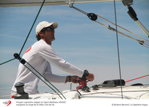 Morgan Lagravière s'empare de la 2ème place sur la Transmanche