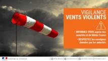 Vigilance de niveau ORANGE pour vents violents sur le département de la Vendée