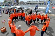 La flotte clouée à terre par une grève du port :  le 8ème Record SNSM annulé