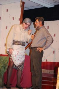 Madame Doubtfire spectacle amateur par la troupe de la folle Outarde de La Tardière ce soir à la Chaume