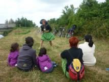 Balade contée à vélo avec Claudie la conteuse les 2 et 16 août