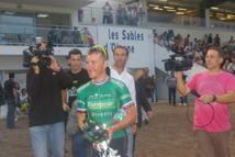 Mercredi 8 Août , le cycliste Thomas Voeckler prendra sa revanche après avoir affronté pour la première fois de sa carrière un cheval qui fut plus rapide que lui en août 2011.
