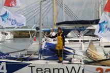 Les Sables – Les Açores – Les Sables: Justine Metttraux (TeamWork) incontestable leader de cette première étape.