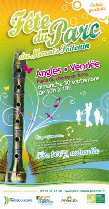 6ème Fête du Parc du Marais poitevin à Angles le dimanche 30 septembre