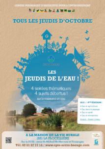 7 ème édition des jeudis de l'eau à la Flocellière