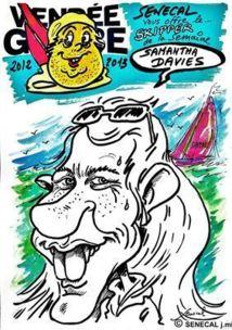Les skippers du Vendée Globe caricaturés