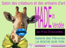 La Roche-sur-Yon: Salon des créateurs et des artisans du 19 au 23 novembre  aux Flâneries