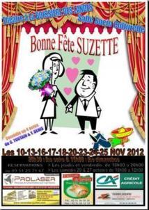 """La Boissière des Landes : théâtre avec """"Bonne fête Suzette du 10 au 25 novembre"""