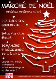 Marché de Noël des Lucs sur Boulogne