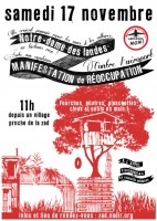 Dernières précisions au sujet de la manifestation de réoccupation