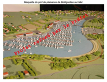 """""""la Normandelière n'est pas le bon endroit pour installer un port"""""""