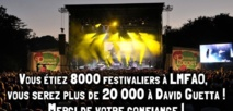 David Guetta au festival de Poupet : 16 000 places vendues