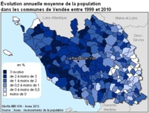 Population légale 2010 en Vendée : l'attractivité se poursuit