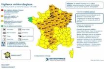 La Vendée placée en vigilance orange jusqu'à dimanche  6h00