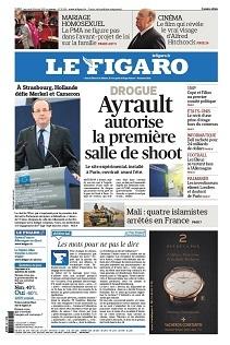 Le Figaro daté du 06 février sera absent des kiosques. Il est disponible gratuitement en numérique sur votre ordinateur.