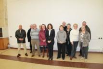Sylviane Bulteau (au centre) est allée à la rencontre des sympathisants et le public samedi matin à la salle Louis Chaigne