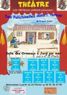 Des Polichinelles dans l'terroir à Jard-sur-Mer  ce vendredi à 20h30