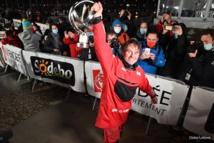 Yannick Bestaven (Maître CoQ IV) vainqueur du Vendée Globe
