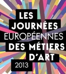Les Journées européennes des métiers d'art se préparent pour la 3 e année consécutive les 5, 6 et 7 avril.