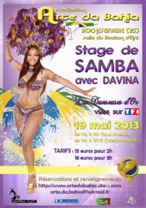 Stage de Samba à Rocheservière