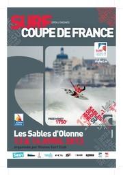 Les Sables d'Olonne accueillent la Coupe de France de Surf