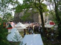 6ème Rassemblement Européen de Compagnies Médiévales au Château de Saint Mesmin  ce dimanche 28 avril de 14h30 à 18h30