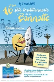 Noirmoutier: 16e fête traditionnelle de la Bonnotte le 4 mai