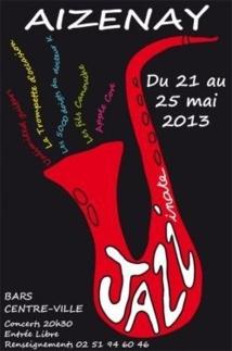 Pour la 9e édition, la ville d'Aizenay vous propose une semaine de jazz en mai !