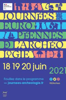 Journées européennes de l'archéologie les 18, 19 et 20 juin