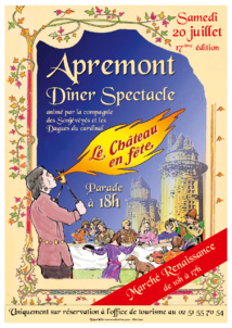 Le Château en Fête: une journée de découvertes à la Renaissance le samedi 20 juillet