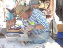 La 33ème fête des vieux métiers et des métiers d'arts se déroule à l'Île d'Olonne samedi 20 et dimanche 21 juillet