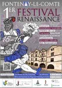 Pendant trois jours Fonenay-le-Comte va vivre à l'heure de la Renaissance