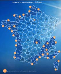 Eté 2021 : renfort saisonnier des forces de sécurité intérieure en Vendée