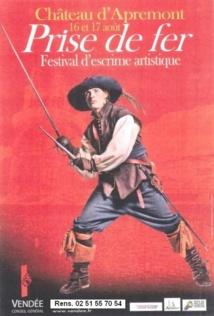 """Festival  """"Prise de Fer"""" au Château d'Apremont les 16, 17 et 18 août"""