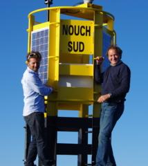 Transat Jacques Vabre 2013: Bertrand de Broc et Arnaud Boissières réunis à bord de Votre Nom Autour du Monde pour l'UNICEF