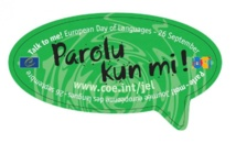 26 septembre  — Journée Européenne des Langues