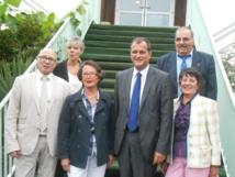 Louis Aliot, vice-président du Front national, ici, à Aubigny ce samedi