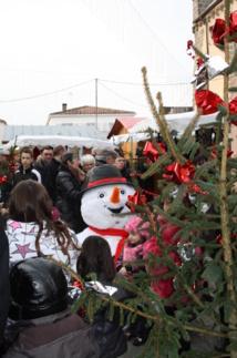 Marché de Noël de Longeville sur Mer