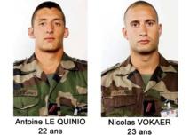 Hommage national à nos deux soldats tués en République Centrafricaine