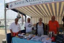 Louis Trichet (2° à partir de la gauche) accompagnait toutes les manifestations de la SNSM ici lors de la Journée sécurité de juillet 2012.