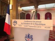 A 11 heures, suivez le direct de la conférence de presse de François Hollande