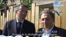 Inauguration de la médiathèque de la Jarrie à Olonne sur Mer