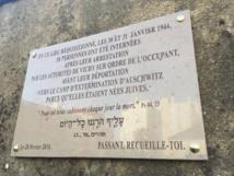 Rafle de janvier 1944 : une plaque commémorative inaugurée ce dimanche à la Roche-sur-Yon.