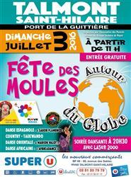 Talmont-Saint-Hilaire: fête des Moules le dimanche 3 juillet  à partir de 11h00