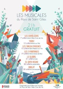 Les Musicales du Pays de Saint Gilles du 7 au 28 juillet