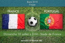 Euro 2016 : ce soir France-Portugal  à  21h00