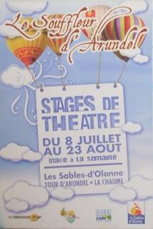 Les Sables d'Olonne: Festival du Souffleur d'Arundel jusqu'au 23 août
