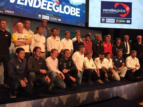 Un 8ème Vendée Globe au plus haut niveau international !