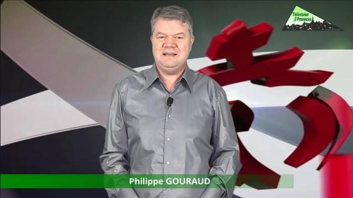 Ce lundi 6 février 2017 sur TV 3 provinces et Télé Vend'Ouest