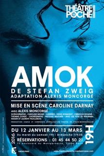 Montaigu : théâtre avec Amok jeudi 4 mai à 20h30